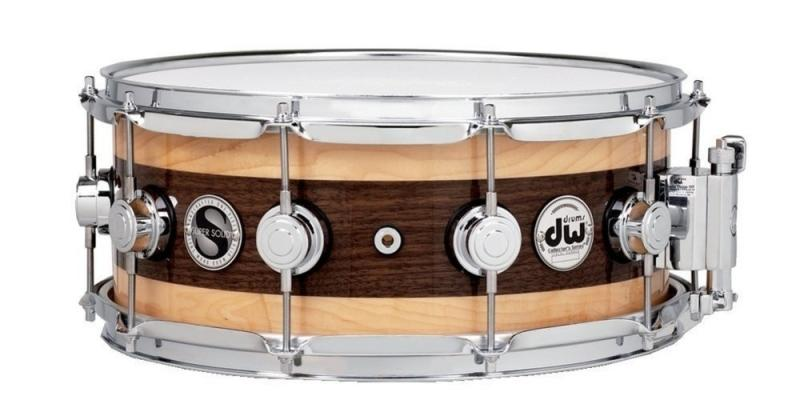 "DW Snare Drum Super Solid Edge 14x5,5"" shell thickness 1/2"""