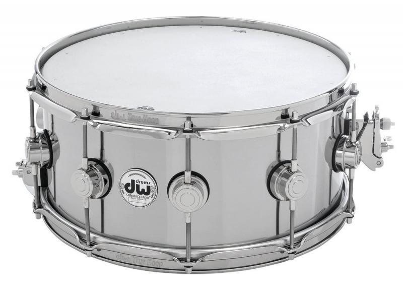 """DW Snare Drum Thin Aluminium 14x6,5"""""""