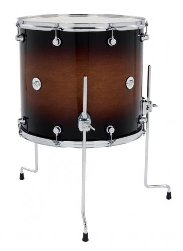 DW Floor Tom Design Tobacco Burst