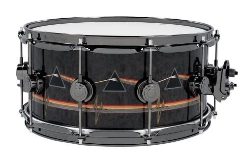 DW Icon Snare Dark Side of the Moon Inlay