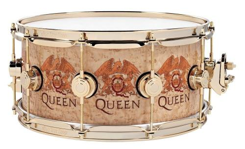 DW Icon Snare Queen Inlay Legend