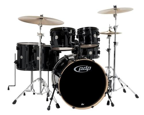 PDP Drum set Concept Maple Black Sparkle