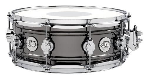 DW Snare Drum Design Black Brass 14 x 5,5""