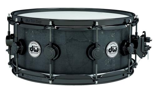 DW Snare Drum Black Iron Black Iron