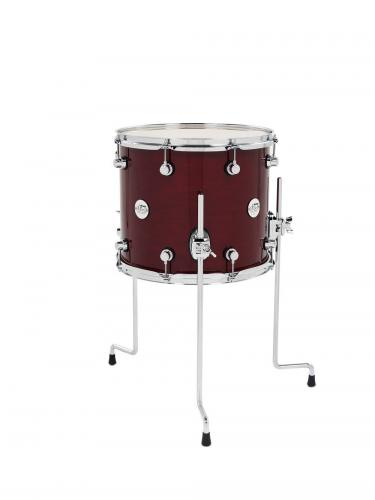DW Floor Tom Design Cherry Stain