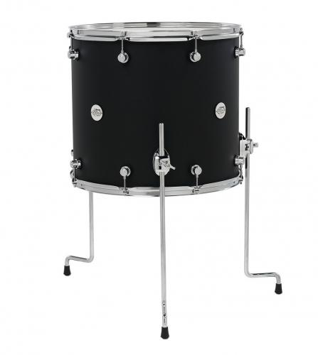 DW Floor Tom Design Black Satin