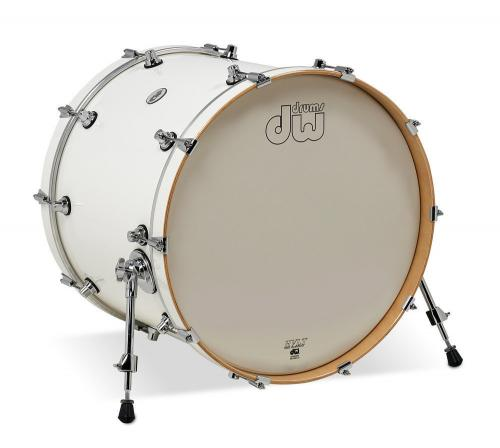 DW Bass Drum Design White Gloss