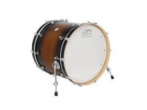 DW Bass Drum Design Tobacco Burst