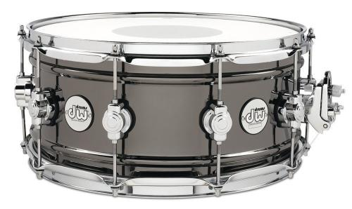 DW Snare Drum Design Black Brass 14 x 6,5""