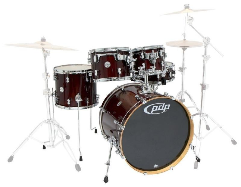 PDP Shellset Concept Maple Red to Black Fade