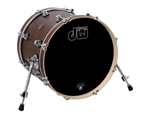 DW Bass Drum Performance Titanium Sparkle