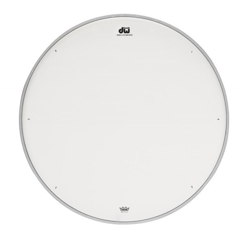 "DW Snare drum head Double A white coated 14"" DRDHACW14"