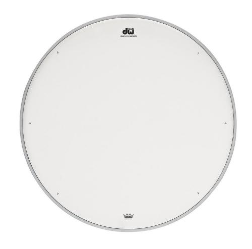 "DW Snare drum head Double A white coated 10"" DRDHACW10"