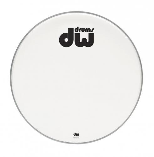 "DW Bass drum head Double A Coated 18"" DRDHACW18K"