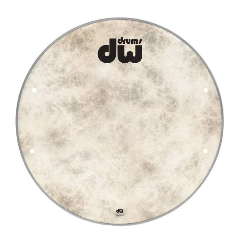 "DW Bass drum head Fiberskyn 18"" DRDHFS18K"