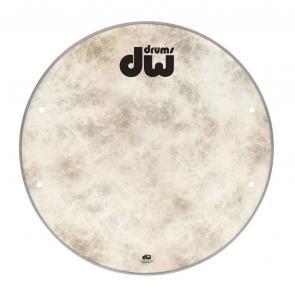 "DW Bass drum head Fiberskyn 18"" DRDHFS18K"