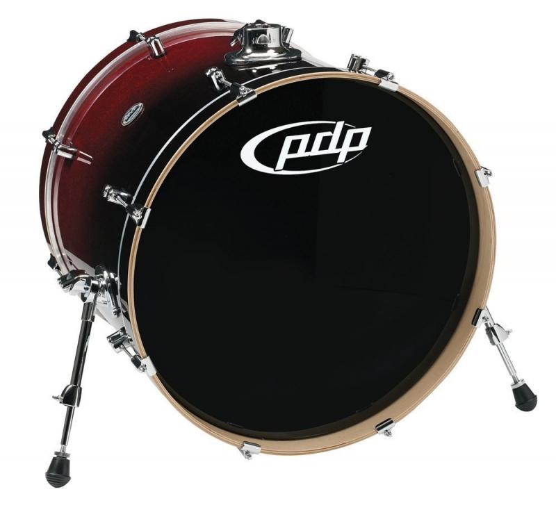 PDP Bass Drum Concept Maple Black Sparkle