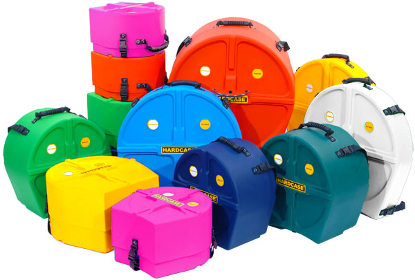 Hardcase - färglada