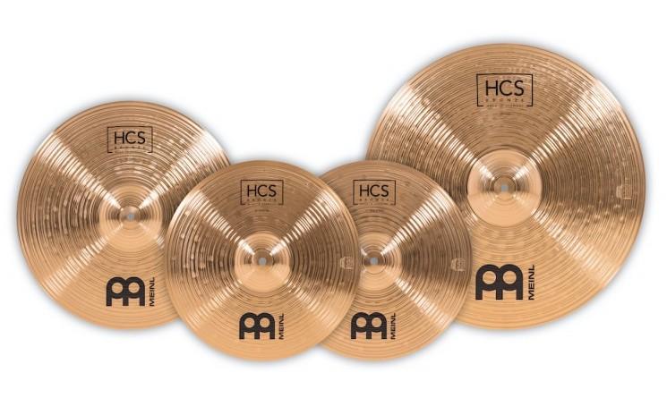 HCS Bronze Cymbal set, 14H/16C/20R