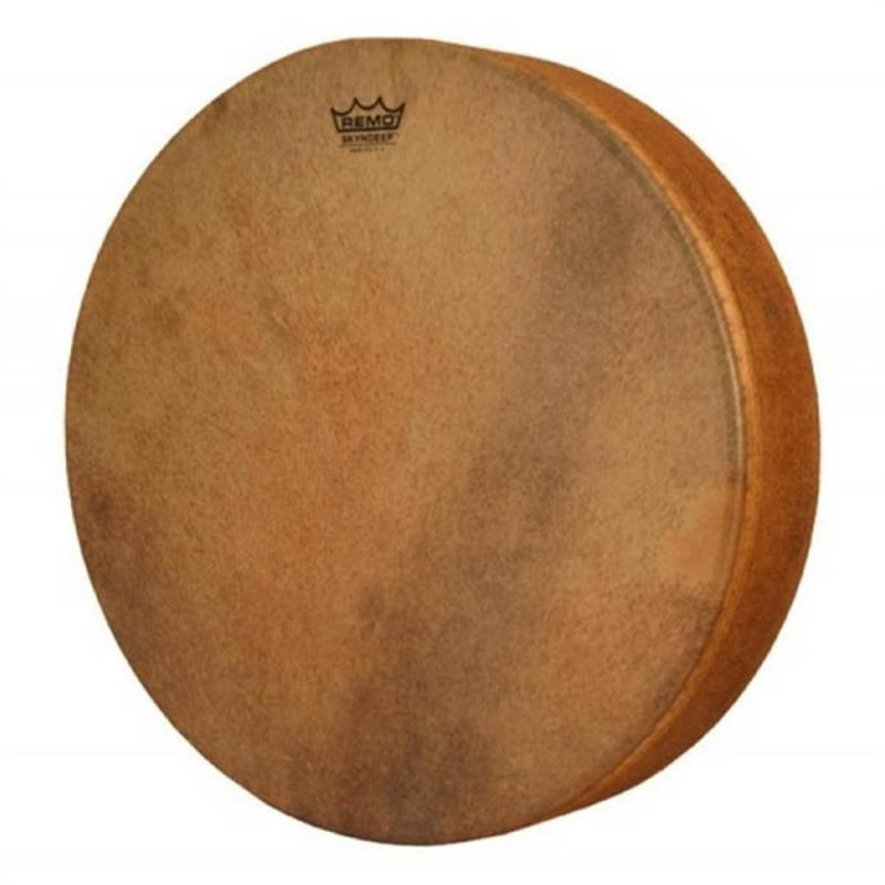 """Remo 18″ x 3″ Tar Skyndeep Fixed Drumhead """"Goat brown"""""""