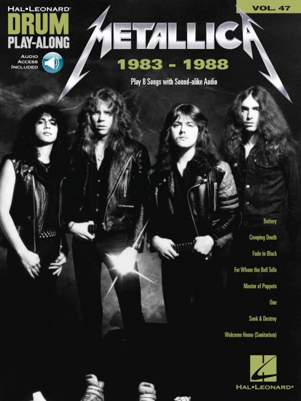 Drum Play Along Volume 47 Metallica 83-88