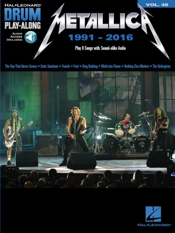 Drum Play Along Volume 48 Metallica 1991-2016