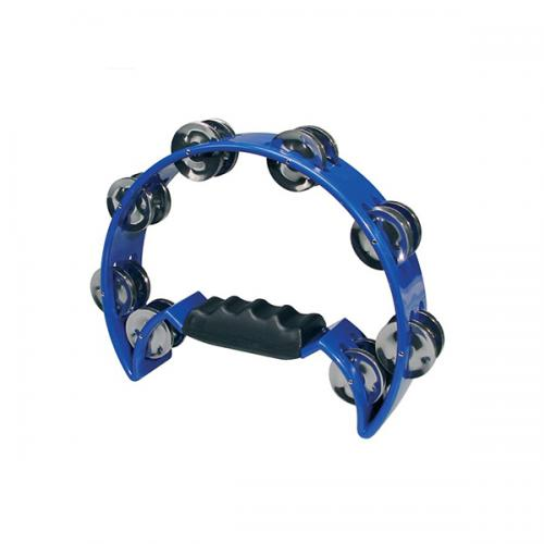 Hayman Half Moon Tambourine blå