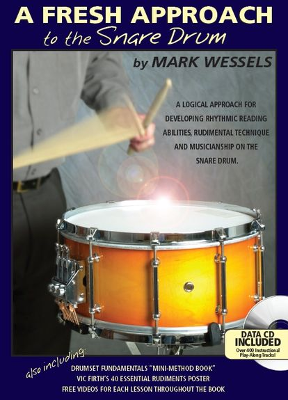 A Fresh Approach to the Snare Drum (med CD)