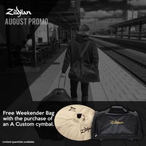Weekend-bag på köpet från Zildjian