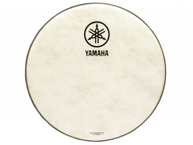 Yamaha Logo Drum Head New Logo P3 Fiberskin 18