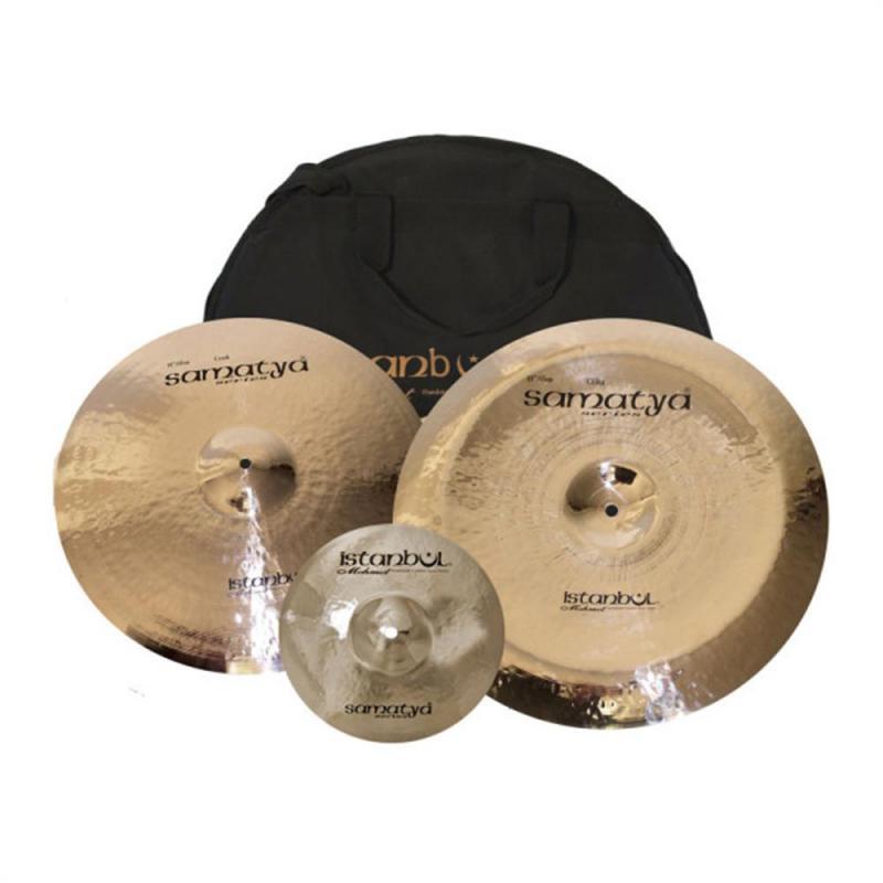 Istanbul Samatya Cymbal Set 3 inkl. bag
