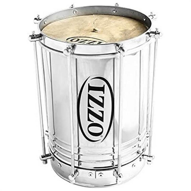 Izzo Cuica 10″, stainless