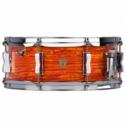 Ludwig LS908 Legacy Maple Jazz Fest Snare Drum – Mod Orange