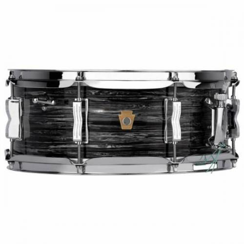 Ludwig LS908 Legacy Maple Jazz Fest Snare Drum – Vintage Black Oyster