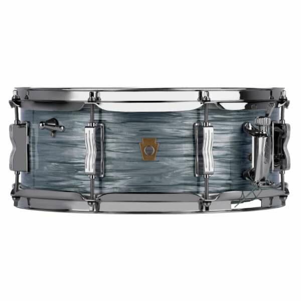 Ludwig LS908 Legacy Maple Jazz Fest Snare Drum – Vintage Blue Oyster