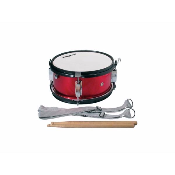 Hayman Junior Marching Snare Drum 10x5 - röd