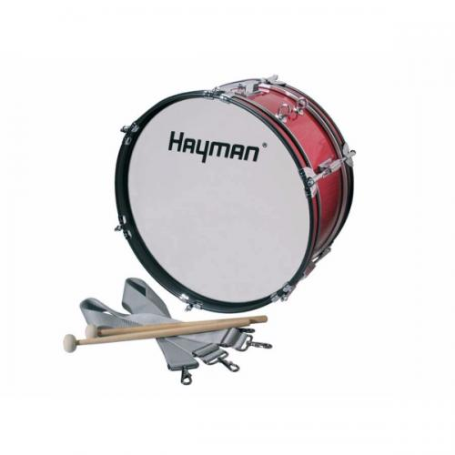 Hayman Junior Marching Bass Drum 18x7