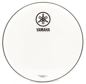 "Yamaha Logo Drum Head New Logo P3 White 22"""