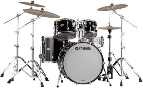 Yamaha Recording Custom Fusion Set Solid Black