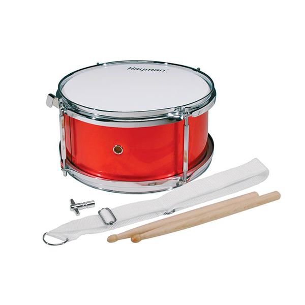 "Hayman Junior Snare Drum 10"" Metallic röd"