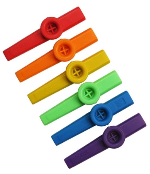 Kazoo - blandade färger