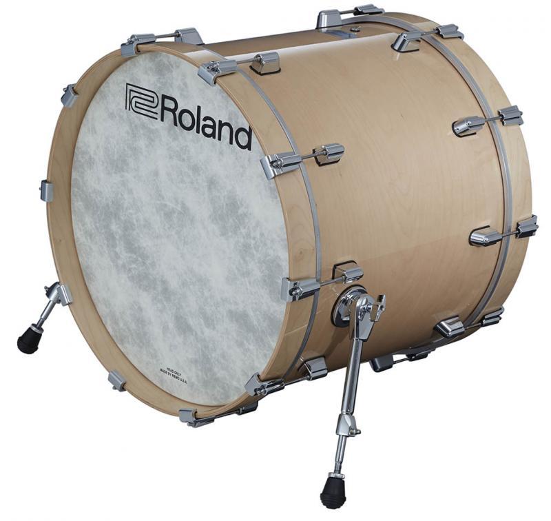 Roland Kick VAD Pad Gloss Natural, KD-222-GN
