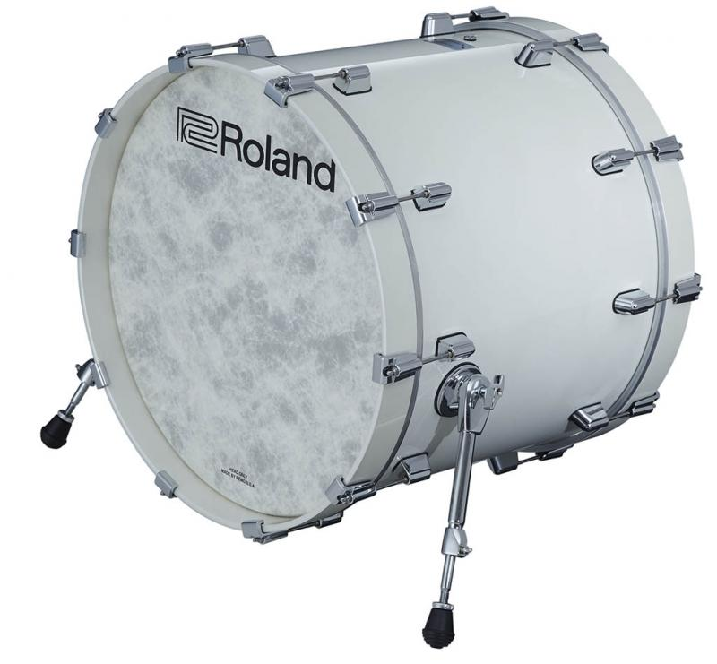 Roland Kick VAD Pad Pearl White, KD-222-PE