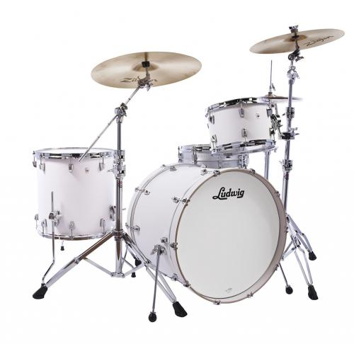 Ludwig NeuSonic 20″ Outfit – Aspen White