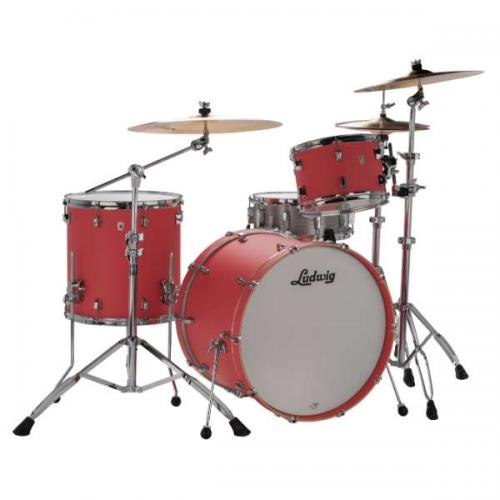 Ludwig NeuSonic 22″ Outfit – Coral Red
