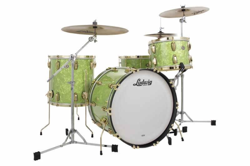 Ludwig Classic Maple Vintage Emerald Pearl Series - Exclusive 110th anniversary