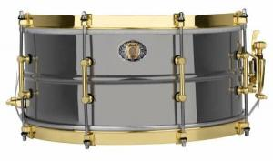 Ludwig LB407XXCX Black Beauty 110th Anniversary Snare 14×6.5″