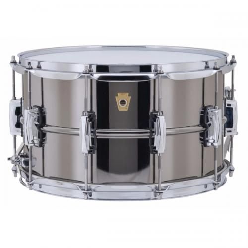 "Ludwig LB408 Black Beauty 14x8"" - Smooth Shell"