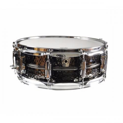 "Ludwig LB416K Black Beauty 14x5"" - Hammered Shell"