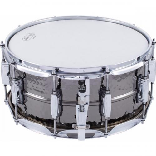 "Ludwig LB417K Black Beauty 14x6.5"" - Hammered Shell"